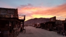 Our magic hour Sunset at the Ghost-Town